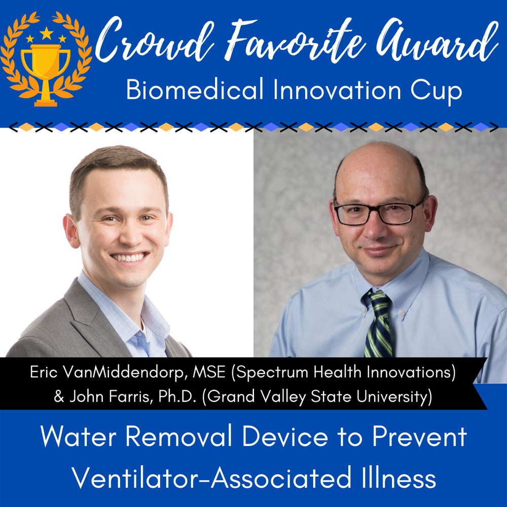 Engineering Alum & Faculty Win 2021 Biomedical Innovation Cup Crowd Favorite Award